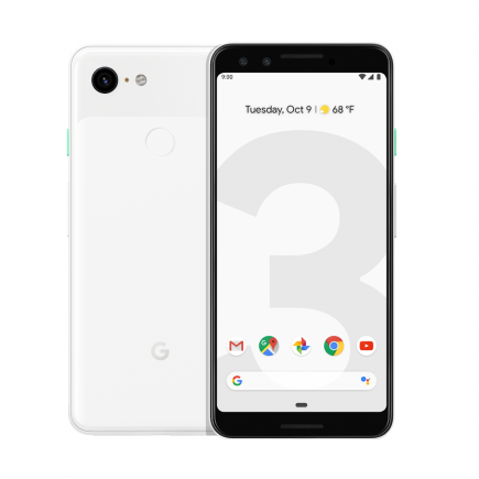 Смартфон Google Pixel 3 128GB Clearly White