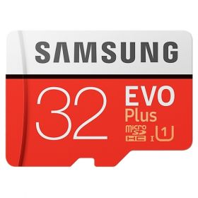 Карта памяти Samsung Evo Plus MicroSD 32Gb + Adapter SD |MB-MC32GA|