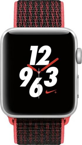 Часы Apple watch 42 Series 3 Nike + Cellular Space Gray Aluminum + midnight fog |MQLE2|
