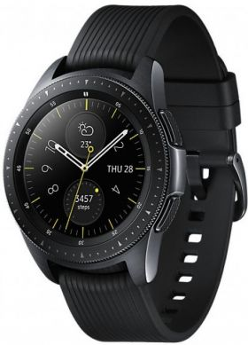 Умные часы Samsung Galaxy Watch R810 (Bluetooth) 42mm, черные