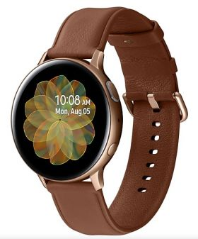 Умные часы Samsung R820 Galaxy Watch 2 Stainless Steel 44mm, золото