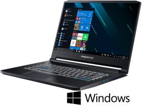 "Ноутбук Acer Predator Triton 500 |PT515-51-75BH| (Core i7 9750H/16GB/512SSD/15.6""Full HD IPS/GeForce RTX 2060 6GB) Win10 Home"