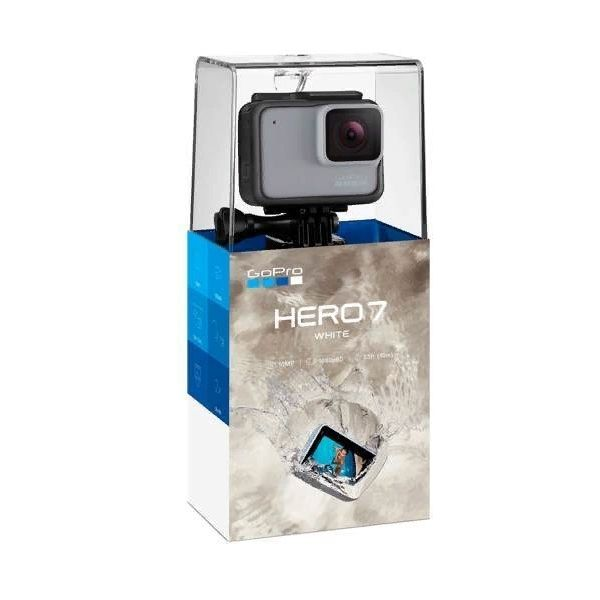 Видеокамера экшн GoPro HERO 7 White Edition |CHDHB-601-LE|